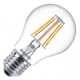 Лампа LED Fila 4.3-50W E27 WW A60 ND 470lm (классик) - LED филамент PHILIPS