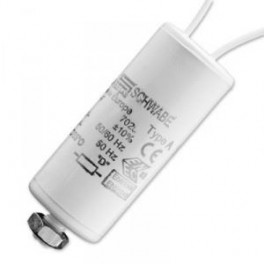 SCHWABE HELLAS 10 мкФ 250V (HQI70,HQL125,NAV110,50) Конденсатор с защелками
