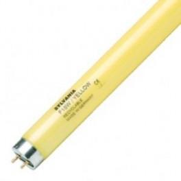 Лампа SYLVANIA F 18W/ YELLOW G13 750 lm d26x 590 желтая - цветная