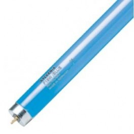 Лампа SYLVANIA F 58W/ BLUE G13 1000 lm d26x1500 синяя - цветная