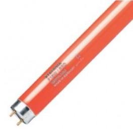 Лампа SYLVANIA F 58W/ RED G13 100 lm d26x1500 красная - цветная