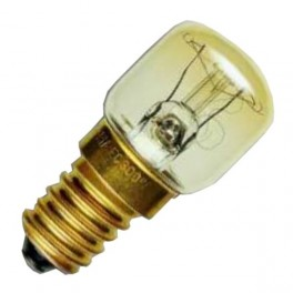 Лампа SYLVANIA 25W 240V E14 Clear (холодильник прозрачная d=28 l=63)