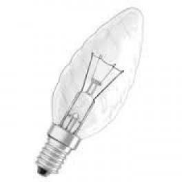 Лампа SYLVANIA TW Candle 25W 240V Cl E14 (свеча витая прозрачная)