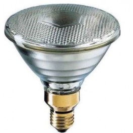 Лампа SLV PAR38 FLOOD YELLOW 30* 80W 230V E27 (лампа-фара жёлтая d=122 l=136)
