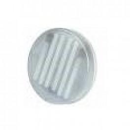 SLV MLF 6W/840 + S RING REC UK матовое серебро встройка+лампа светильник