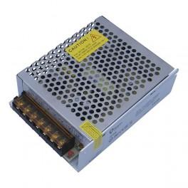 FL-PS SLV12060 Pout= 60Вт, Uout=12В, Uin=175-240В, IP20, 118x78x36мм, 200г - метал. трансформатор