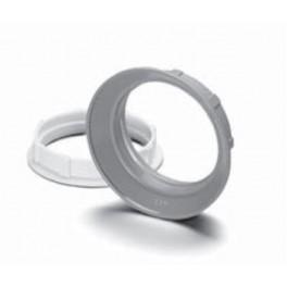 08610 VS Абажурное кольцо Е27 чёрное d55х15 M40X2,5 для 64501