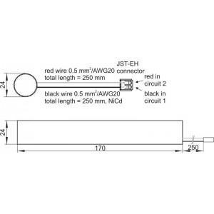 VS EMCc 60 4.8V/1.8Ah аккумулятор TC/T/ (нужен держатель 2шт - 188827)