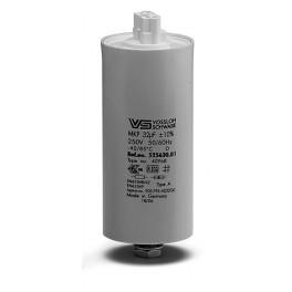 WTB 32 мкФ ±5% 250V d35 l135 M8x10 (Алюм. корпус/Wago/-40C...+85C) Конденсатор