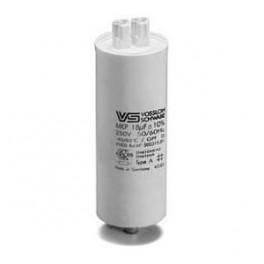 WTB 16 мкФ ±5% 250V d30 l95 M8x10 (Пласт. корпус/Wago/-40C...+85C) Конденсатор