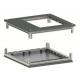 Комплект (крыша с фланцем и основание) для шкафов CQE 600х1000мм ДКС