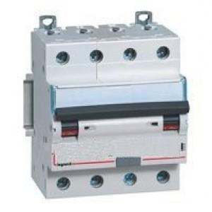 Выключатель авт. диф. тока 4п 4мод. C 25А 30мА тип AC 6/10кА DX3 Leg