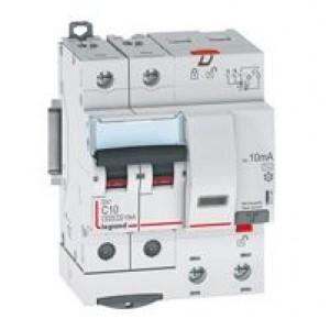 Выключатель авт. диф. тока 2п 4мод. C 25А 30мА тип AC 6/10кА DX3 Leg