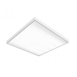 Светильник светодиодный LED 595х595х50 36Вт 6500К офис. встраив. накладной без рассеив. VARTON