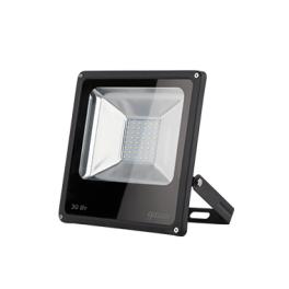 Прожектор светодиод. LED 30Вт IP65 6500К черн. Gauss
