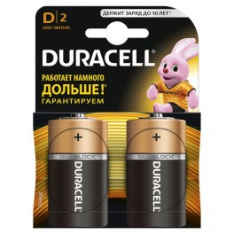 Элемент питания LR MN 1300/LR20 BP-2 (блист.2шт) Duracell