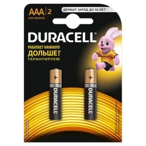 Элемент питания LR MN 2400/LR03 Basic BP2 (блист.2шт) Duracell