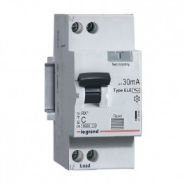 Выключатель авт. диф. тока 1п+Н 16А 30мА тип AC RX3 Leg