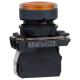 Кнопка КМЕ 4610мЛ 220В 1но+0нз цилиндр индикатор IP65 жел. КЭАЗ