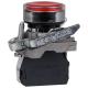 Кнопка КМЕ 4610мЛС 220В 1но+0нз цилиндр индикатор IP65 красн. КЭАЗ