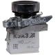 Кнопка КМЕ 4610мС 1но+0нз цилиндр IP65 черн. КЭАЗ