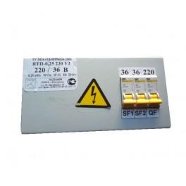 Трансформатор ЯТП 0.25-220/36