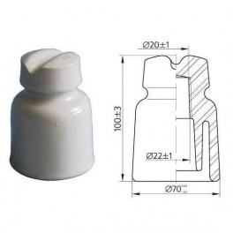 Изолятор штыревой ТФ-20 Электрофарфор