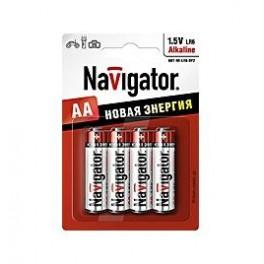 Элемент питания 94 753 NBT-NE-LR6-BP4 (блист.4шт) Navigator