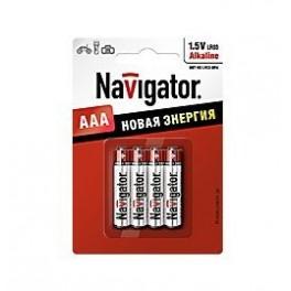 Элемент питания 94 751 NBT-NE-LR03-BP4 (блист.4шт) Navigator