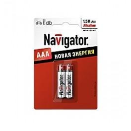 Элемент питания 94 750 NBT-NE-LR03-BP2 (блист.2шт) Navigator