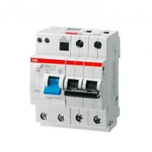 Выключатель авт. диф. тока 2п 4мод. C 16А 30мА тип AC 6кА DS202 ABB