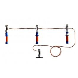 Заземление переносное ПЗРУ-1 Д для распред. устр. до 1кВ 16кв.мм Диэлектрик