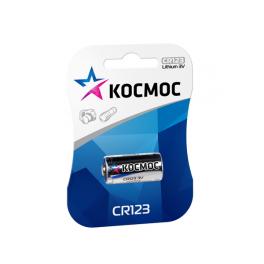 Элемент питания CR CR123 1хBL (блист.1шт) Космос