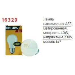 Лампа накаливания FR 40Вт E27 230В PHILIPS / 871150035468684