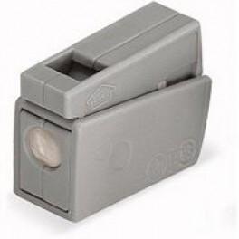 Клемма 1х(0.5-2.5кв.мм) для светильников с пастой сер. WAGO