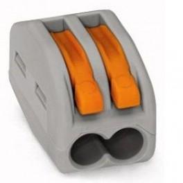 Клеммник 2х(0.08-2.5) WAGO