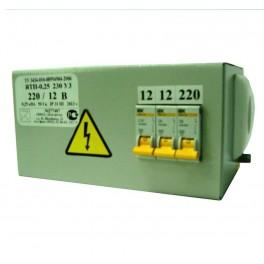 Трансформатор ЯТП 0.25-220/42