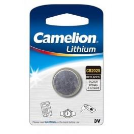 Элемент питания CR CR2025 BL-1 (блист.1шт) Camelion