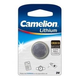 Элемент питания CR CR2016 BL-1 (блист.1шт) Camelion