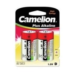 Элемент питания LR LR20 BL-2 (блист.2шт) Camelion