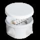 Коробка распр. ОП 75х45 (4 каб.ввод.) 6 клемн. IP54 бел. ЭПП