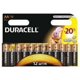 Элемент питания LR MX 1500/LR6 BASIC BP-12 (блист.12шт) Duracell
