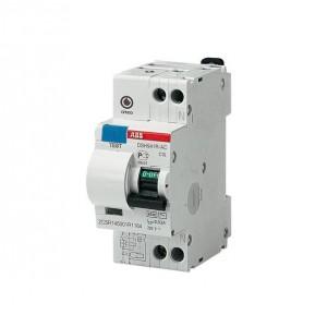 Выключатель авт. диф. тока 1п+N 2мод. C 6А 30мА тип AC 4.5кА DSH941R ABB