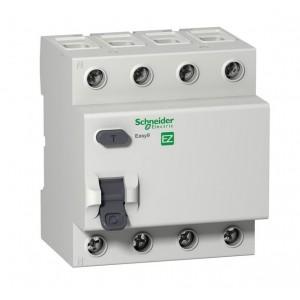 Выключатель диф. тока 4п 63А 30мА тип AC EASY 9 SchE