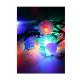 "Электрогирлянда декоративная ""Елочная"" (мат. насадки-шишки снежинки шарики) 4.4м 30LED IP20 мультиколор Космос KOC_GIR30"
