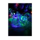 """Электрогирлянда декоративная """"Елочные игрушки"""" (прозр. насадки-пингвины лошадки маленькие олени) 4.4м 30LED мультиколор"""