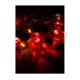 """Электрогирлянда декоративная """"Елочная-1"""" (насадки-шарики и шишки витые) 4.4м 30LED IP20 мультиколор Космос KOC_GIR30LEDR"""