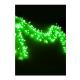 "Электрогирлянда декоративная ""Еловый шлейф из светодиод. шариков"" 6.4м (1.4+5м шнур) 288LED IP20 зел. Космос KOC_GIR288L"