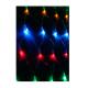 Электрогирлянда сеть 1.8мх1.7м 240LED с контроллером (разные режимы мигания) шнур 3м IP20 мультиколор Космос KOC_NET240L