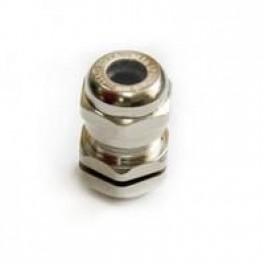 Ввод кабельный М16 латунь Dкаб. 4-8 IP68 ЗЭТА